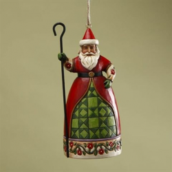 Santa with Cane