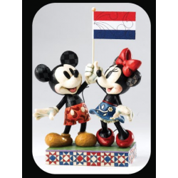 Patriotic Mickey & Minnie