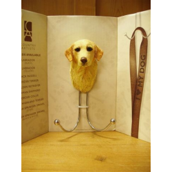 golden retriever wandhaak