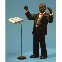 Conductor  + music stand