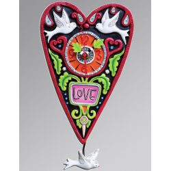 Love Heart Clock