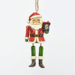 Santa with Dangling Arms & Legs