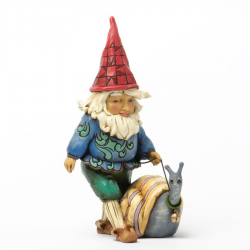 Gnome with Snail