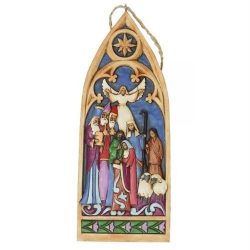 Cathedral Window Nativity