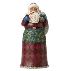 Victorian Santa with Toybag