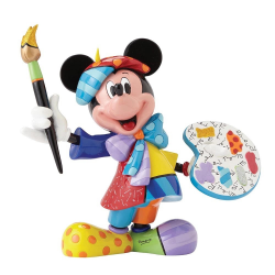Mickey Mouse Painter Figurine
