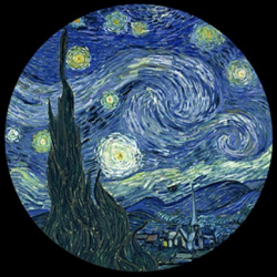 The Starry Night ( 1889 )
