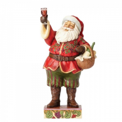 Toasting Traditions ( Santa with wine )