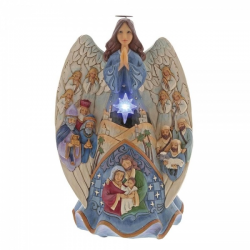 Lighted Nativity Angel Musical